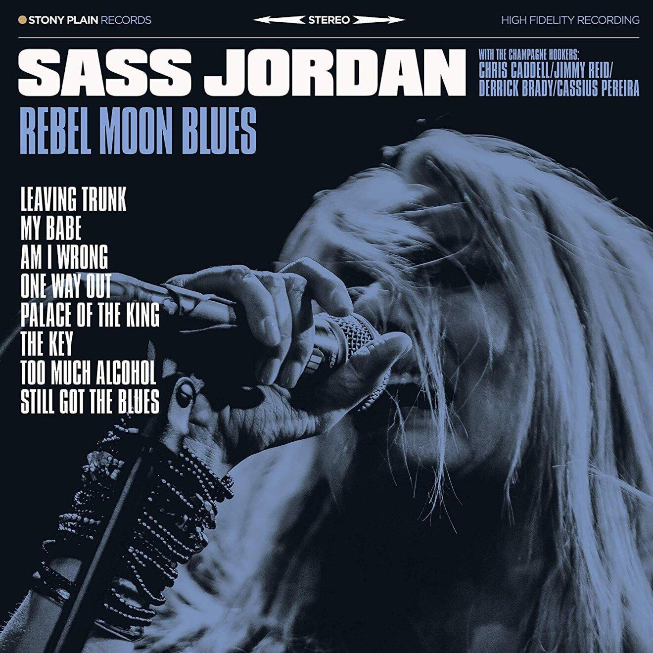 Sass Jordan Rebel Moon Blues