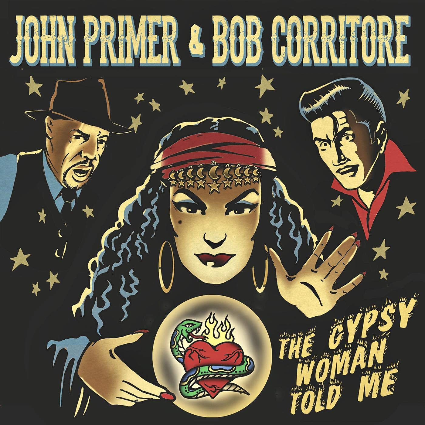 John Primer And Bob Corritore - The Gypsy Woman Told Me