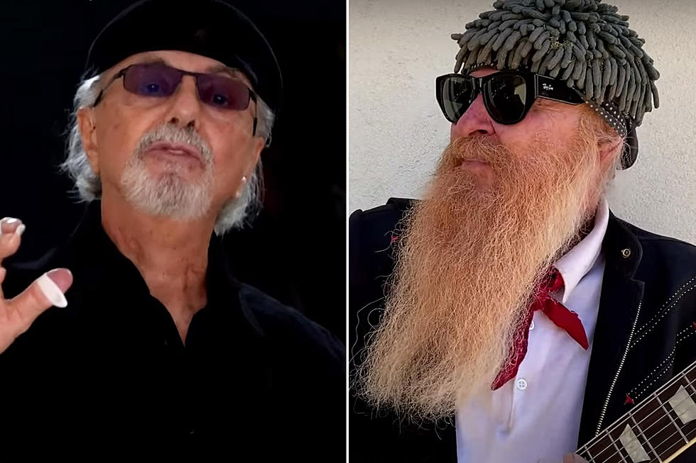 Dion and Billy Gibbons