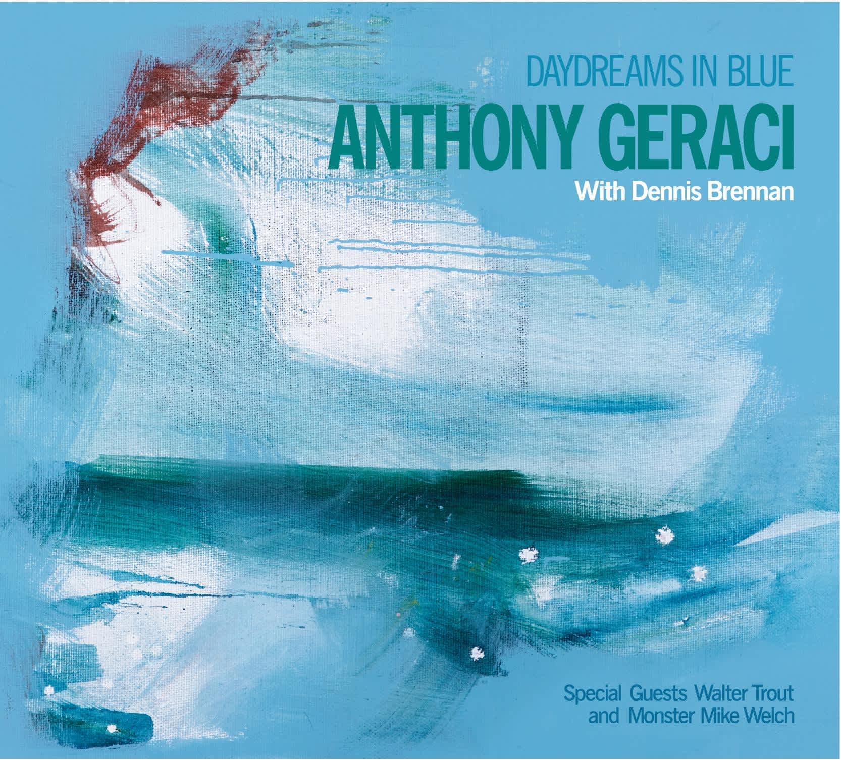Anthony Geraci Day Dreams In Blue CD Cover