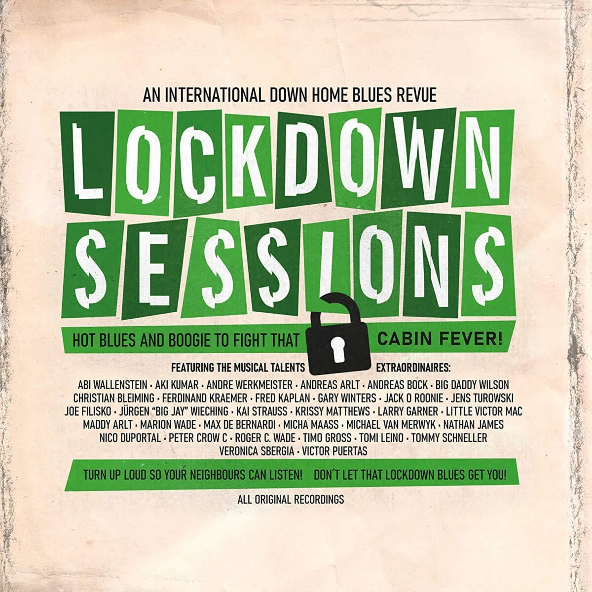 Lockdown Sessions: An International Down Home Blues Revue