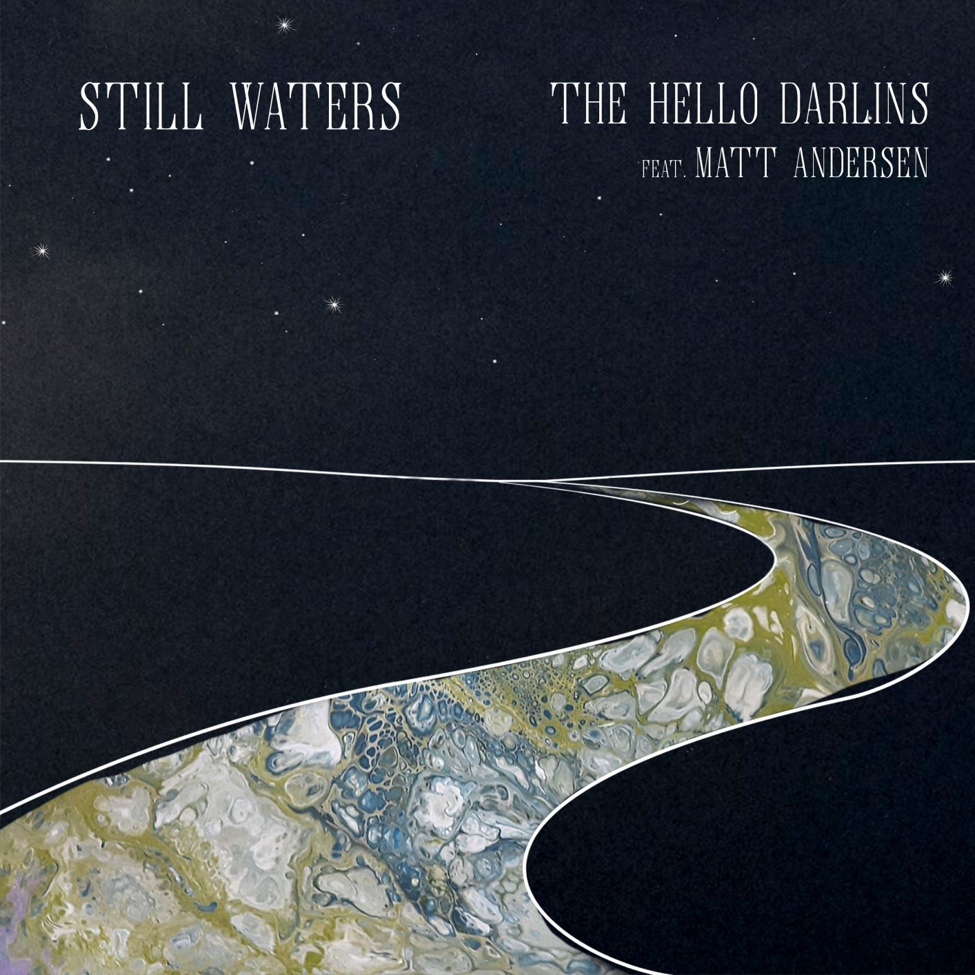 The Hello Darlings Still Waters cover
