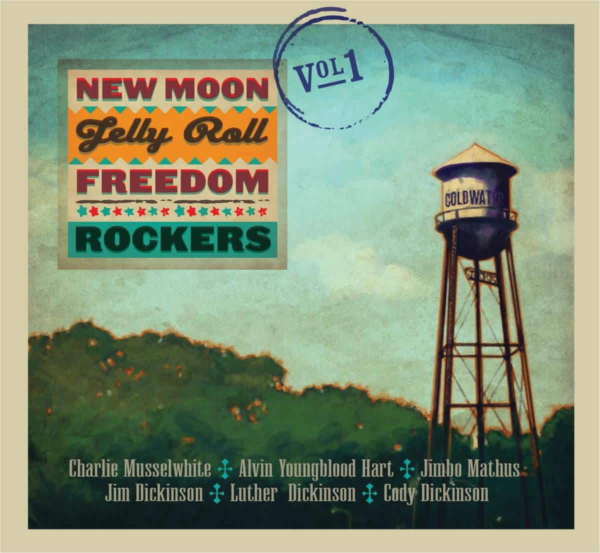 New Moon Jelly Roll Freedom Rockers 1