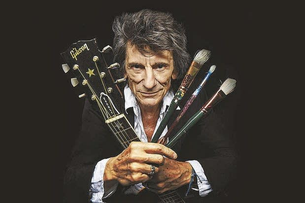 Ronnie wood - Somebody Up There Likes Me (promo)