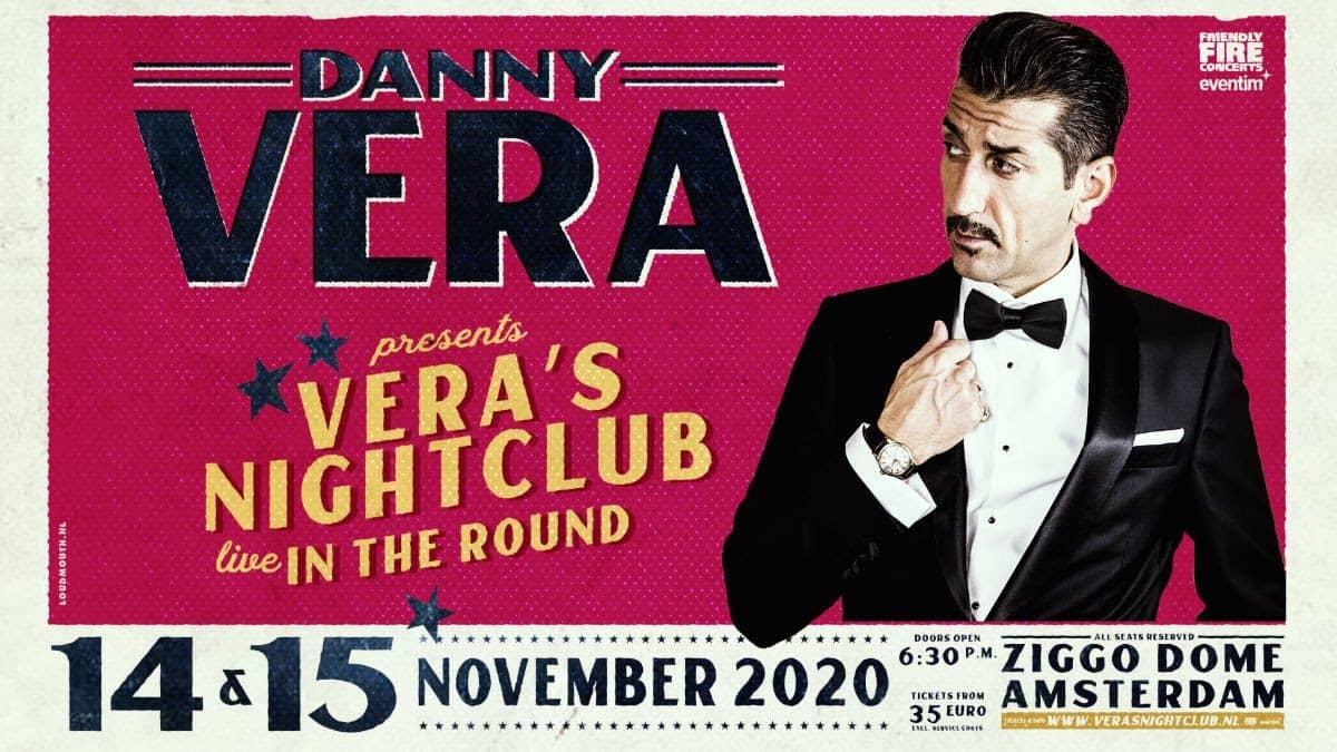 Danny Vera ziggo dome amsterdam 2020