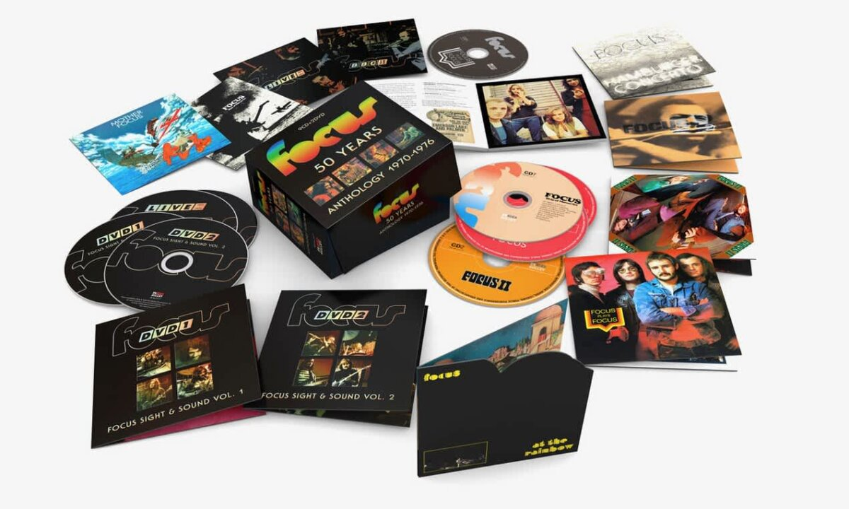 Focus – 50 Years: Anthology 1970-1976