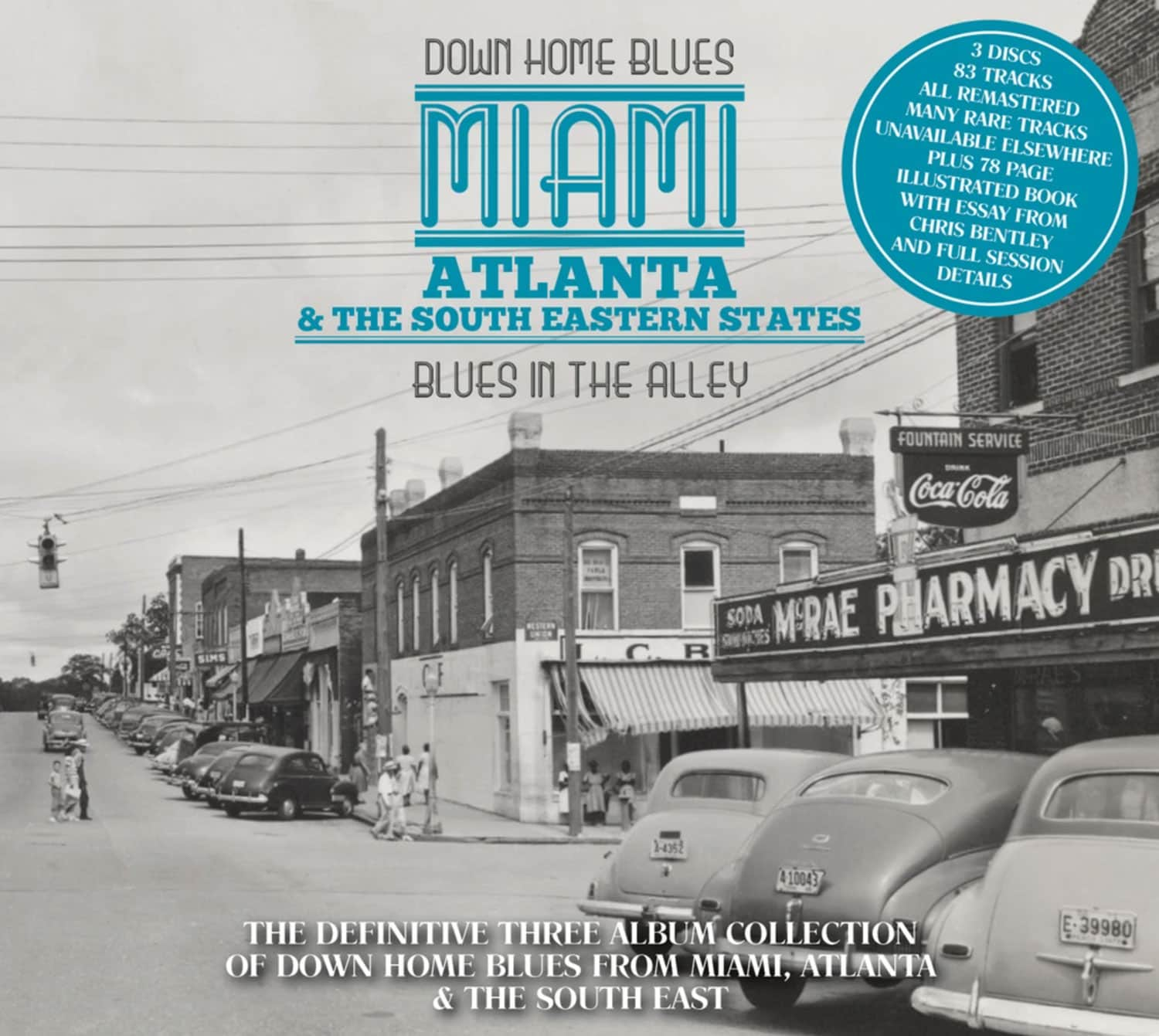 Down Home Blues: Miami, Atlanta & The South Eastern States: Blues In The Alley (CD)