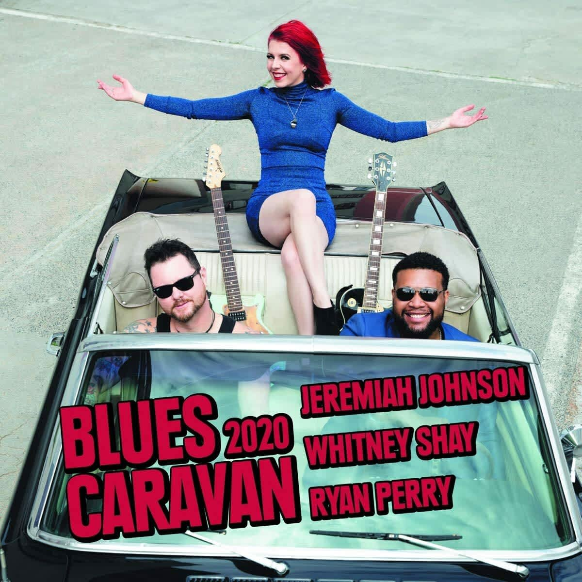 Blues Caravan 2020 with Jeremiah Johnson, Whitney Shay, Ryan Perry