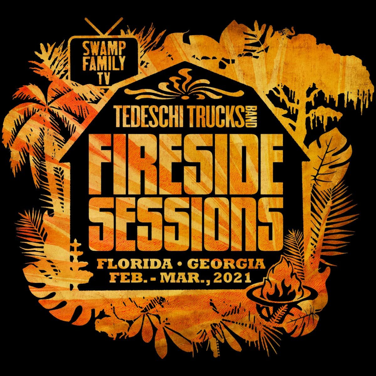 Tedeschi Trucks Band Announces 'The Fireside Sessions'
