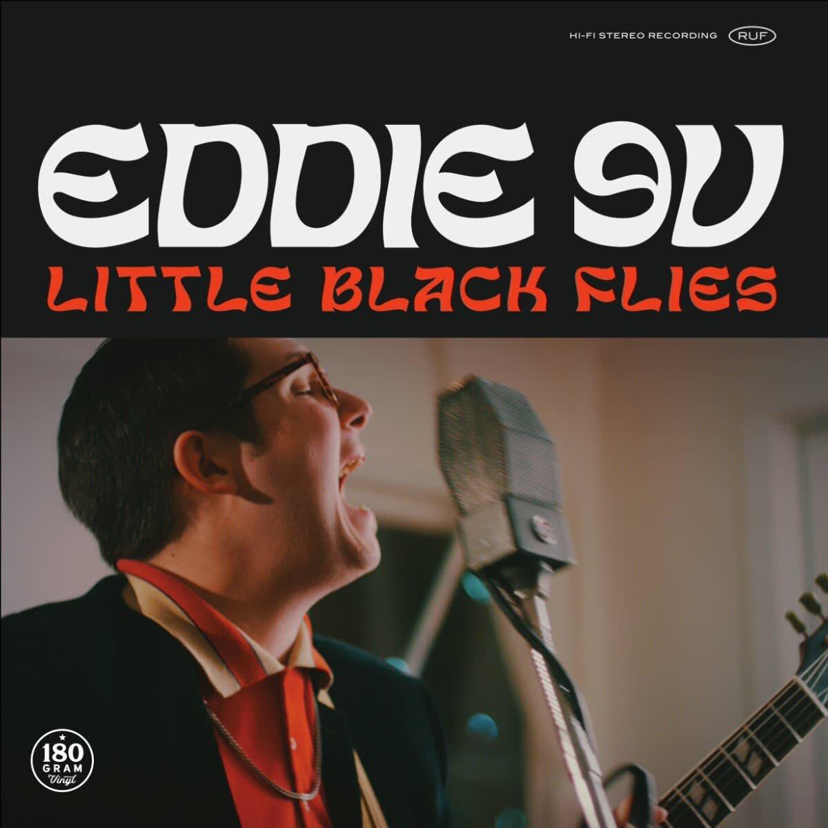 Eddie 9V - Little Black Flies, album cover