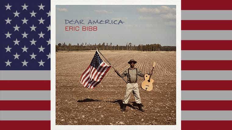 Eric Bibb - Dear America, album cover