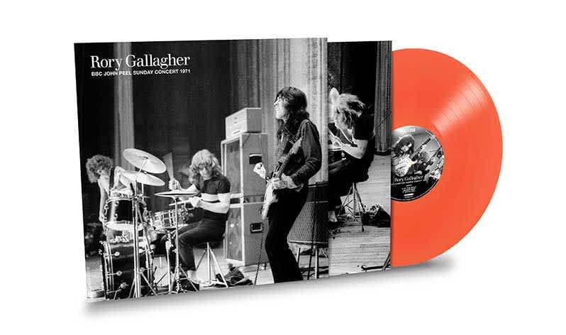 Rory Gallagher Orange Vinyl BBC Sessions