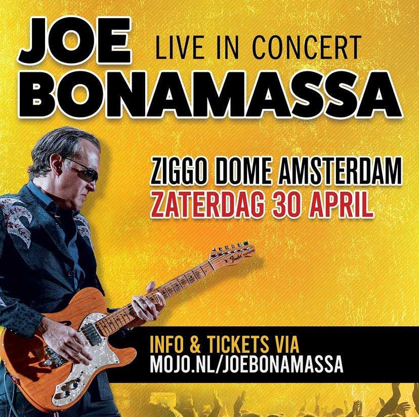 Joe Bonamassa concert 2022